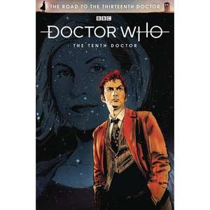 Doctor Who: Road To The 13th Doctor: 10th Doctor Special #1 (Cover A Signed Edition) First Edition Print Signed by Author James Peaty £3.35 @ Forbidden Planet