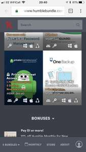 1 Years Private Internet Access Via Humble Bundle - £11.52