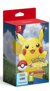 Pre order let's go Pokémon switch bundle £74.99 @ Amazon