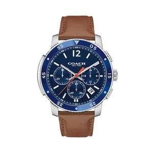 Coach - Men's brown 'Bleecker' chronograph Watch Debenhams £87.75 plus £5 collection voucher