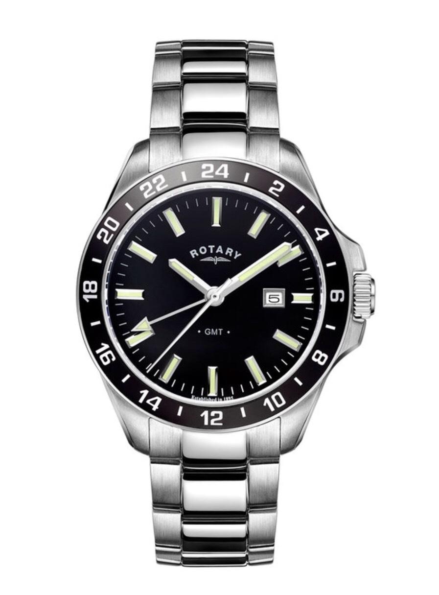 Rotary Havana GMT Men's Watch RRP:£149, now £74.50 @ Beaverbrooks