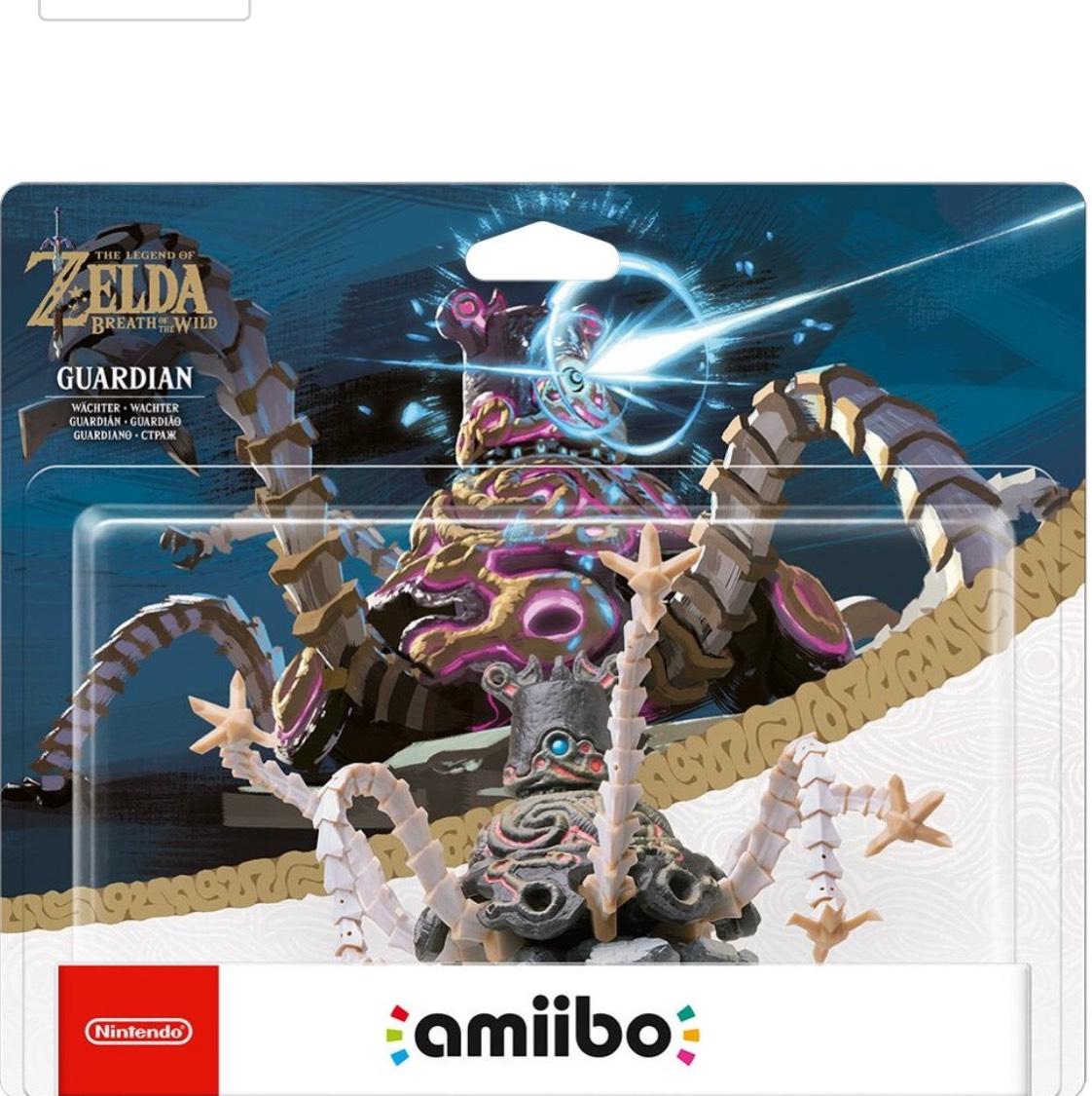 Legend of Zelda. Breath of the Wild. Guardian amiibo £20.96 @ Amazon