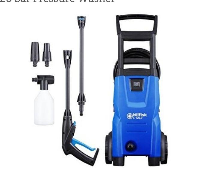 Nilfisk C 120 bar Pressure Washer £59.99 @ Amazon