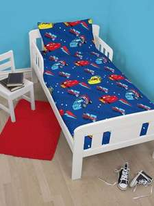 Disney Cars Piston 4 in 1 Junior Bedding Bundle Set £13.95 Tesco sold by Childrens Rooms LTD