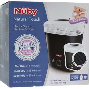 NUBY Electric Steam Steriliser & Dryer £29.99 - TKMaxx + £1.99 c&c or £3.99 delivery