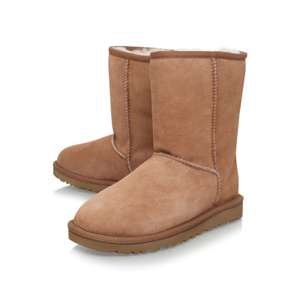 Short Chestnut UGG Boots in sizes 3 and 6 only £77 with code at  Shoeaholics