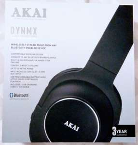 Akai Dynmx Bluetooth headphones with FM/MP3 mode £7 @ Morrisons online & in-store