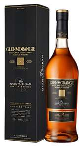 Glenmorangie Quinta Ruban Single Malt Scotch Whisky £36 Amazon