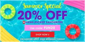 20% off Hand Picked Favourites with code @ Book People