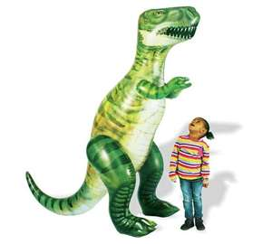 Chad Valley 6ft Giant Inflatable Dinosaur was £22.99 now £12.99 C+C @ Argos