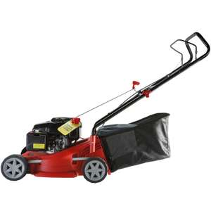 Sovereign 40cm push petrol rotary Lawn Mower £85 Homebase