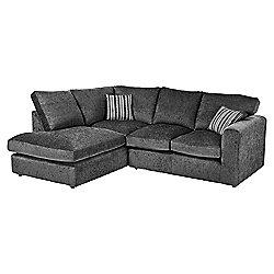 50% off this Taunton Left Hand Corner Sofa, Dark Grey £374.50 / £399.50 delivered Tesco