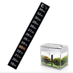 Aquarium stick on thermometer X1 £0.99 FREE P+P UK 24HR DISPATCH @ Ebay Aquaticsoulutions