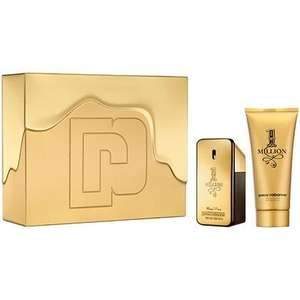 Paco Rabanne 1 Million 50ml Gift Set £29.99 Delivered / Abercrombie & Fitch First Instinct Eau De Toilette Gift Set​ + Free weekend bag £21.5​0 delivered @ The Perfume Shop