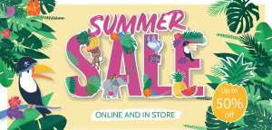Upto 50% off sale nursery, maternity, kids wear eg toddler backpacks were £14 now £7, Hungry Caterpillar puzzle was £8 now £4 more in OP @ Jojo Maman Bebe