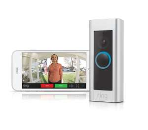 Ring Video Doorbell Pro - Kit with chime and transformer, 1080p HD, two-way talk, wifi, motion detection (Used - Very Good) @ Amazon Warehouse £159.91