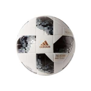 Adidas Telstar Top Replique (FIFA Quality) World Cup Ball Down From £30 to £17.99 at John Lewis - £2 c&c