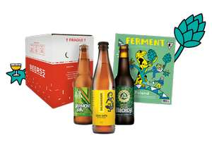 8 Polish beers, magazine and a snack for £2.95 delivered @ Beer52