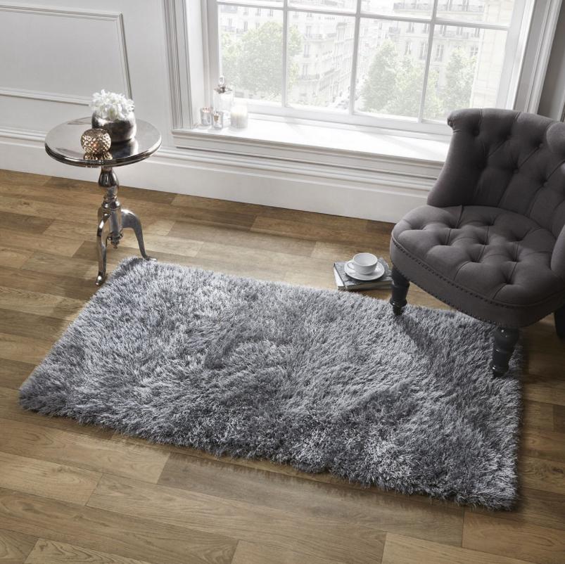 Only £17.50 - Sienna Shaggy Floor Rug Mat Runner - 80 x 150 cm @ Tesco Direct
