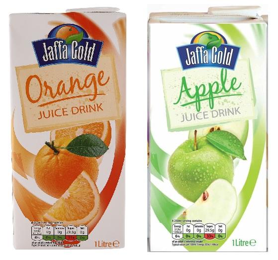 Jaffa Gold Orange/Apple Juice Drink 1L Carton 35p @ Poundstretcher