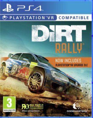 Dirt rally plus vr bundle £11.49 @ PSN