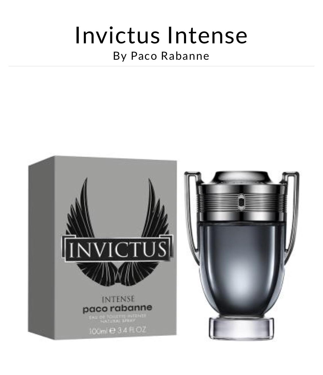 Paco Rabane Invictus 100ml £48.99 delivered FragranceExpert
