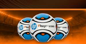 Ebuyer - 500 footballs to giveaway on purchase of HP toner and ink - Prices from £21.47