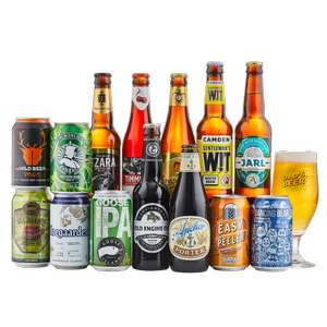 Great price here - Crafty Dad Beer Mixed Case (14 beers + Glass) plus £4.99 postage @ Beer hawk
