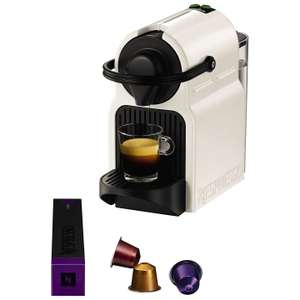 Nespresso Inissia Coffee Machine by Magimix, Black (white also available) - free Aeroccino (via redemption) - £49.99 @ John Lewis (free C&C)