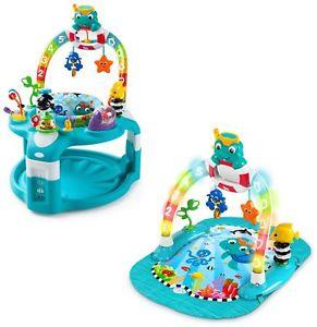 Baby Einstein 2-in-1 Lights & Sea Activity Gym & Saucer - £40.99 @ eBay Argos Store