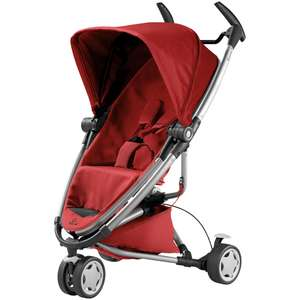 Quinny Zapp Xtra2 Pushchair in red was £374.99 now £187.50 delivered @ John Lewis