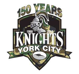 York City Knights Free entry for all Military Personal & U16s Sunday 1st July