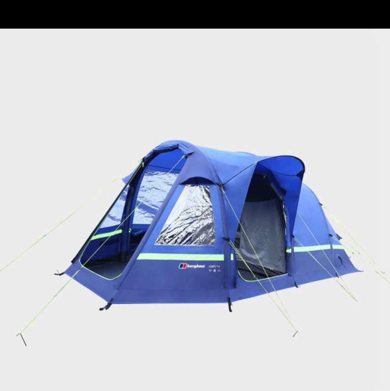 Berghaus Air 4 Inflatable Tent £299 Blacks
