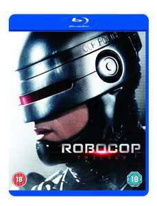 Robocop Trilogy (Blu Ray), £7.99 (Prime) / £10.98 (non Prime) at Amazon Or £2 P&P @ HMV.