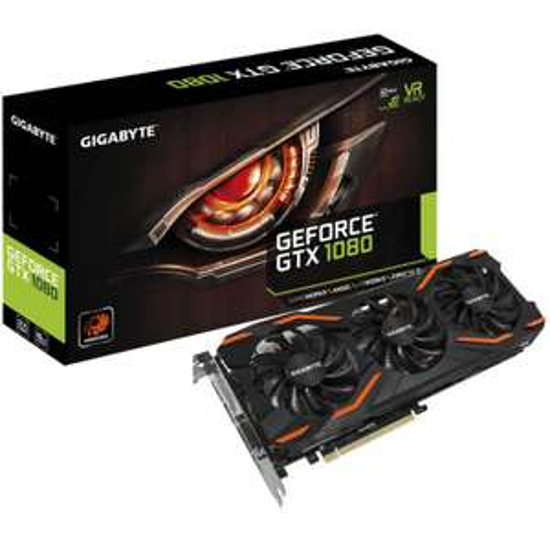 Gigabyte GeForce GTX 1080 Windforce OC 8192MB GDDR5X PCI-Express Graphics Card (GV-N1080WF3OC-8GD) £454.99  Overclockers