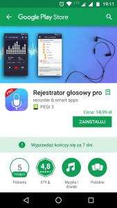 Voice recorder pro Android app FREE