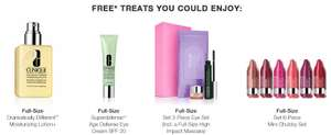 Free full size gift (worth ~£30) with £25 purchase at clinique (with poss 8% quidco)