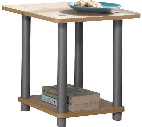 HOME Verona 1 Shelf End Table - Beech Effect £5.99 Argos