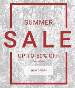 Mamas & Papas up to 50% off summer sale