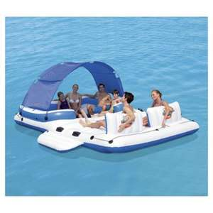 Half price Bestway inflatable Tropical Breeze Floating Island £75 + £3 Del @ Tesco Direct