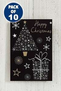 10 Pack Christmas Cards From Only 15p ! plus free P&P @ Studio.co.uk