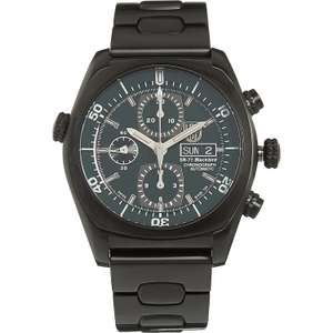 Luminox Black Valjoux 7750 Automatic Chronograph Watch SR-71 Blackbird Automatic £699.99 TK Maxx