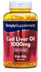 Free Cod Liver Oil Suppliments - no purchase necessary @ Simply supplements