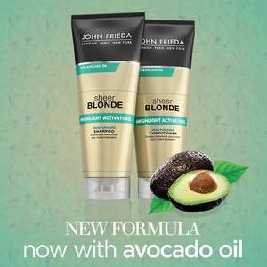 Free John Frieda Sheer Blonde with Avo Oil (so post freebie so wont last long)