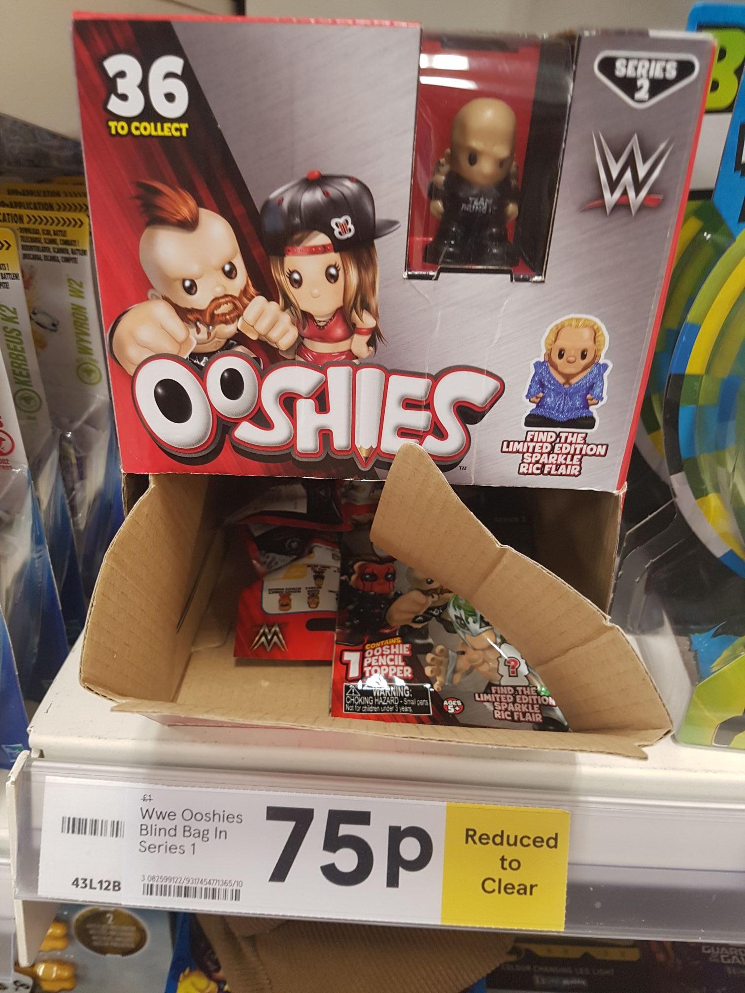WWE ooshies 75p instore @ Tesco (Liverpool)