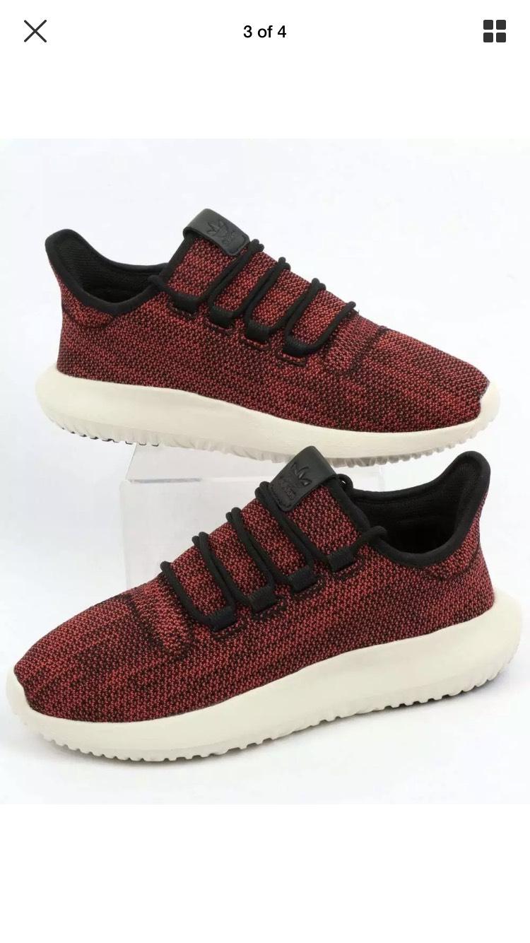 Adidas Originals - Adidas Tubular Shadow CK Trainers in Black/Scarlet £29.95 @ ebay /  honourabletype