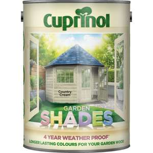 Now Live - BOGOF on all Woodcare including Cuprinol & Ronseal -  2 x Cuprinol Garden Shades 2.5L £17 (£8.50 each) / 2 x Ronseal One Coat Fence Life 5L £7 (£3.50 each) @ Wickes