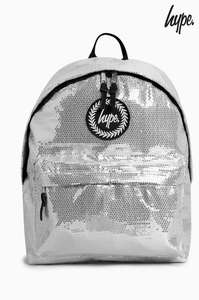 Hype Silver Sequin Backpack £7.50 or Ice Paint Backpack £8.50 @ Next (in clearance Section)