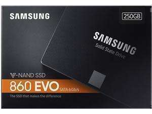 Samsung 860 EVO 250GB SSD £57.59 at  Novatech Edit... Now £59.99!