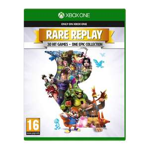 Rare Replay for Xbox One includes 30 games - £4.99 C&C @ Smyths Toys